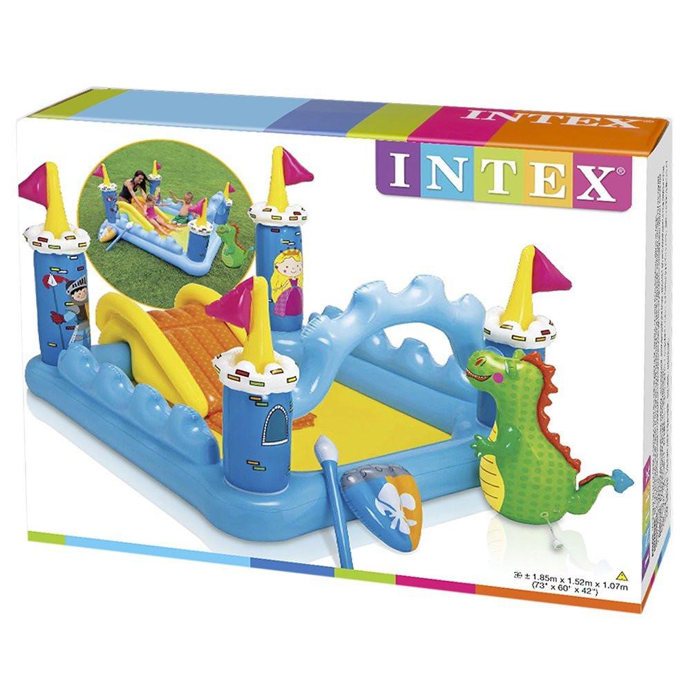 Детский надувной водный игровой центр Intex 57138 Волшебный замок