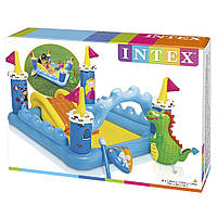Детский надувной водный игровой центр Intex 57138 Волшебный замок, фото 1