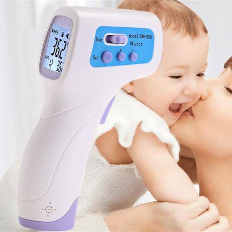 Цифровой бесконтактный инфракрасный термометр DM300