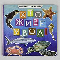 """Гр Моя перша книжка """"Хто у воді живе"""" (20)"""