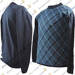 Мужские вязанные свитера в Ромбик от 48 до 54 размера