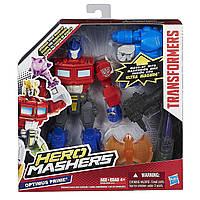 "Разборная фигурка Оптимус Прайм из м/с ""Охотники на чудовищ"" - Optimus Prime, Hero Mashers, Hasbro, фото 1"