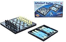 Настольная игра 3 в 18899 (шашки, шахматы и нарды)