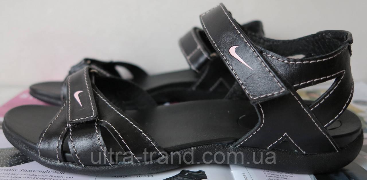 Nike! Кожаные !женские! сандалии сандали !босоножки! летняя обувь ... 2279d3fd514