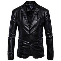 Мужская кожаная куртка,пиджак классический.Натуральная кожа.