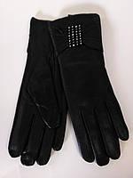 Rana Isms 2142 женские кожаные перчатки черные на плюше