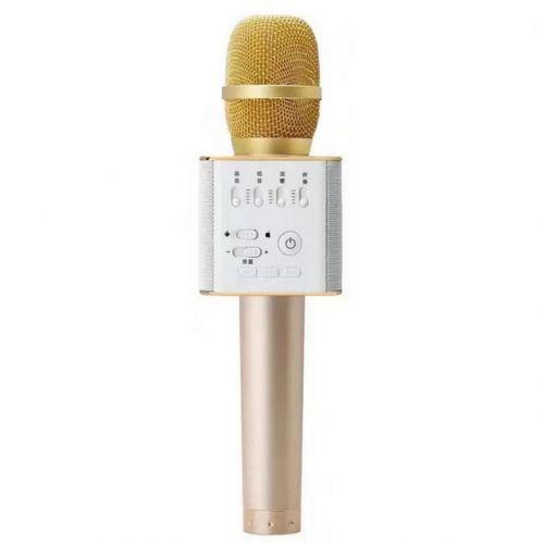 Беспроводной микрофон караоке bluetooth Q9 Gold