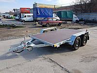 Прицеп платформа для перевозки негабарита 3,2м х 1,9м. Без тормозов., фото 1