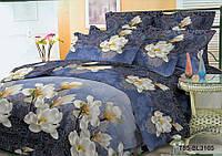 Полуторное постельное белье полиСАТИН 3D (поликоттон) 853165