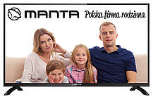 Телевизор Manta LED32EO10 (PQV 100Гц, HD Ready, Dolby Digital Plus 2x8Вт, DVB-C/T), фото 2