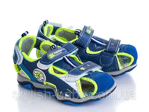 Детская летняя обувь оптом. Детские босоножки бренда ВВТ для мальчиков (рр. с 26 по 31), фото 2