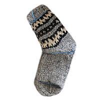 Носки из овечьей шерсти ручная вязка