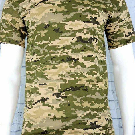 Мужская футболка пиксель ВСУ, фото 2