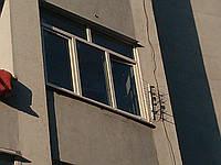 Балконная металлопластиковая рама REHAU Euro-Design 60 фурнитура MACO, фото 1