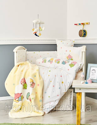 Детский плед в кроватку Karaca Home Sleepers 100*120