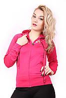 Спортивная женская кофта мастерка №86 Розовый