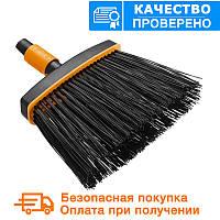 Садовая щетка - метла (малая) QuikFit™ от Fiskars (1001415/135534)