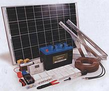 500 Вт Комплект автономной солнечной электростанции  12V/220V c фотомодулем 290 Вт и резервом АКБ, фото 2
