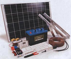 600 Вт Автономная солнечная электростанция  12V/220V c резервом АКБ 8 часов, фото 2