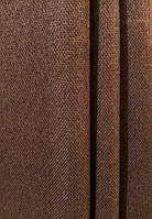 Штора мешковина блэкаут цвет коричневый