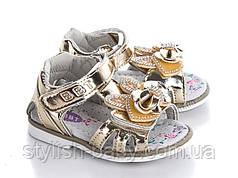 Детская обувь оптом. Летняя обувь 2018. Детские босоножки бренда ВВТ для девочек (рр. с 21 по 26)