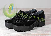 Туфли из натуральной лаковой кожи Мида 21413 чл 36 размер, фото 1