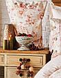 Набор постельное белье с пледом Karaca Home Arlo orange оранжевый евро размера Коллекция 2018, фото 2