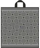 Полиэтиленовые пакеты с петлевой ручкой 40x42 см / (уп-25 шт)