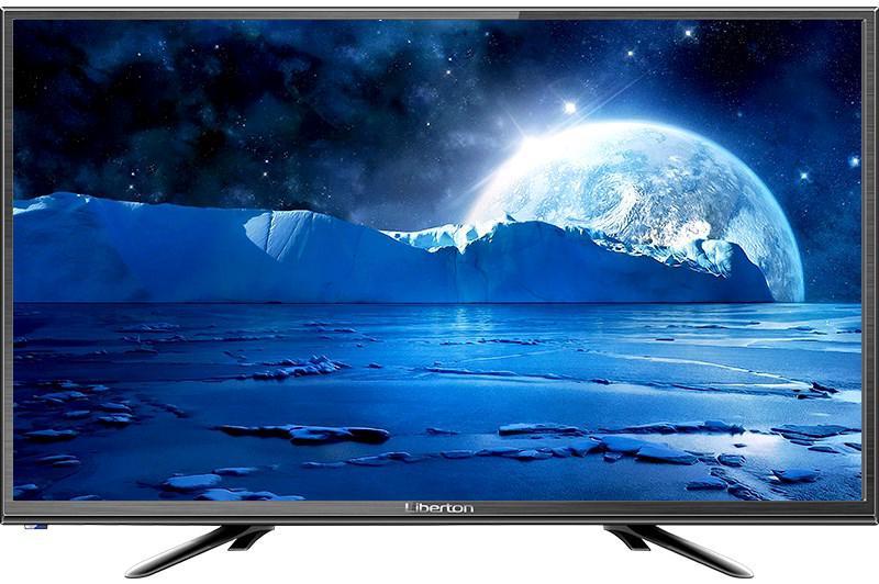 Телевизор Liberton 24HE1HDT Black (60Гц, HD, Dolby Digital 2 x 5Вт, DVB-C/T2)