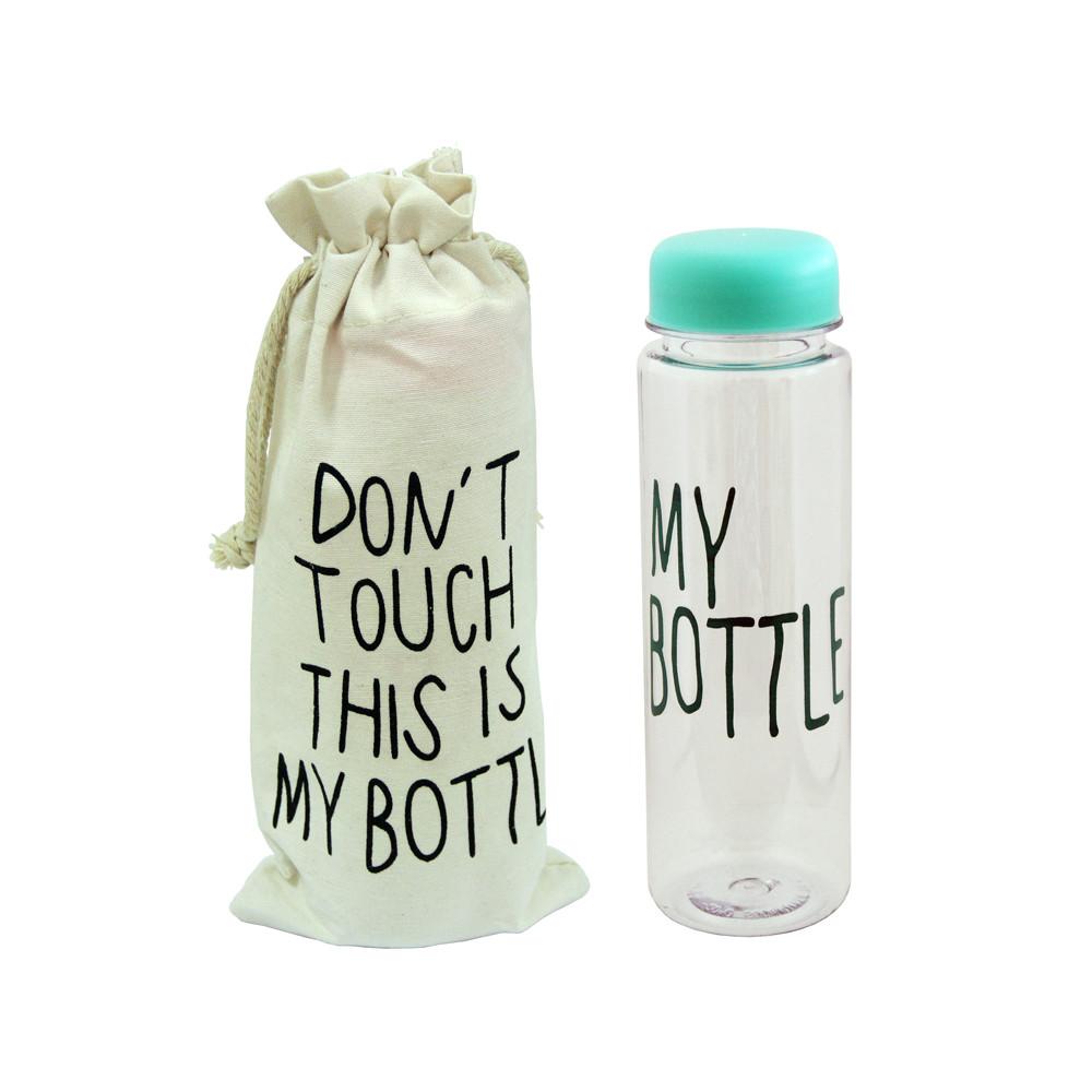 Пластиковая бутылка My bottle с чехлом, 500 мл