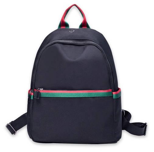 Рюкзак в стиле Gucci для девушек черный