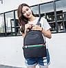 Рюкзак в стиле Gucci для девушек черный, фото 8