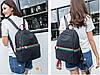 Рюкзак в стиле Gucci для девушек черный, фото 9