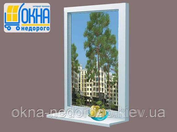 Металлопластиковое окно OpenTeck Elit 70 глухое, фото 2