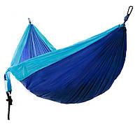 Гамак Meibony Outdoor Double Camping Hammock Подвесной двухместный гамак для кемпинга,300 кг,Голубой (SUN0358)