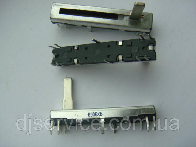 Фейдер стерео b50kx2 для Roland rx300, Casio и др.