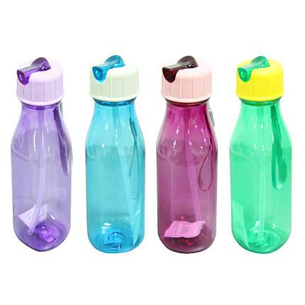 Пластиковая бутылка с носиком Вернисаж, 350 мл, фото 2