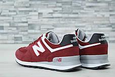 Мужские кроссовки New Balance 247 красные топ реплика, фото 2