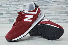 Мужские кроссовки New Balance 247 красные топ реплика, фото 3
