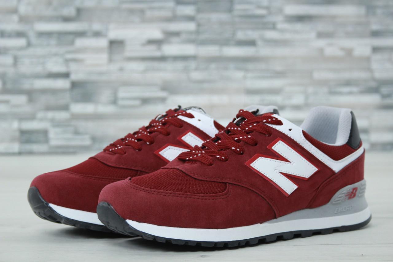 Мужские кроссовки New Balance 247 красные топ реплика