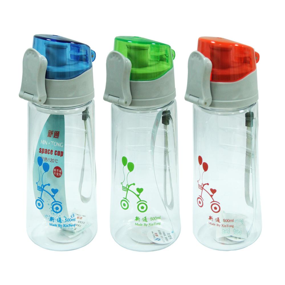 Пластиковая бутылка для воды Мода, 600 мл