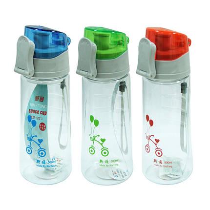 Пластиковая бутылка для воды Мода, 600 мл, фото 2