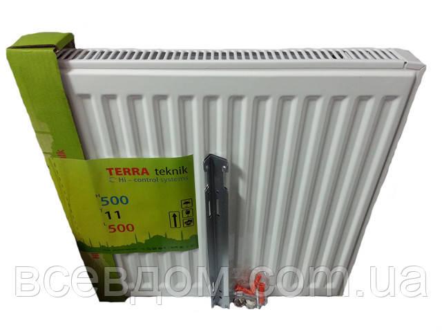 Радиатор стальной Terra Teknik т22 500х500