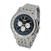 Часы Breitling Navitimer 1 Chronometre 46mm Silver/Black. Реплика: AAA