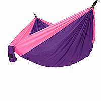 Гамак Meibony Outdoor Double Camping Hammock Подвесной двухместный гамак для кемпинга, Фиолетовый (SUN0360)
