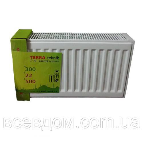 Радиатор стальной Terra Teknik т22 300х1200
