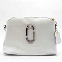 Женская сумочка через плечо из натуральной кожи белого цвета ENY-004926, фото 1