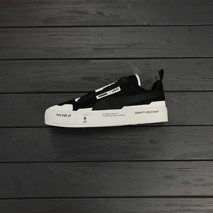 Кроссовки Puma x UEG Court Play Black, фото 2