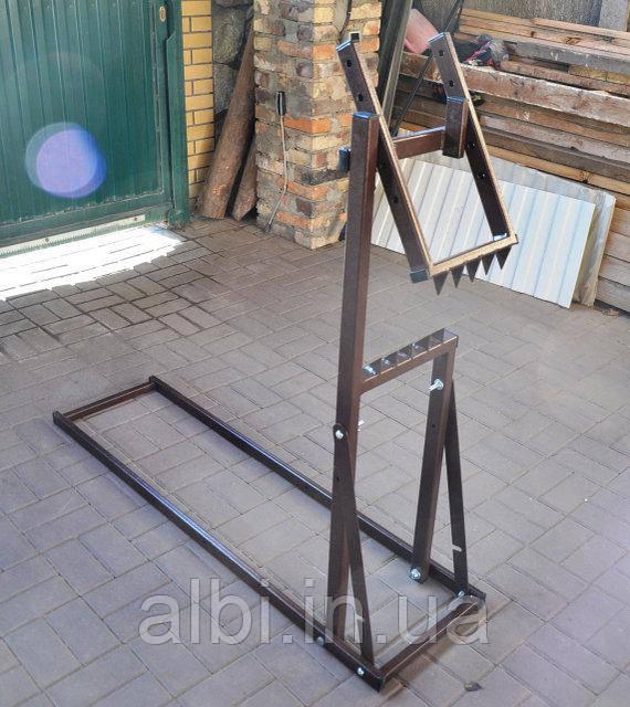 Стенд  козлы для распиловки бревен 410мм