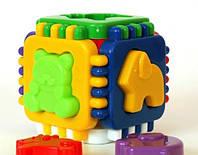 Развивающая игрушка кубик логический МГ 014